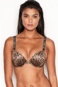Victoria's Secret Very Sexy Plunge Bra | animal print push-up bras