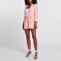 RIVER ISLAND Coral long soft blazer ~ womens summer blazers ~ women's jackets