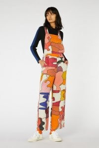 Robyn Doherty x Gorman JIGSAW OVERALLS – multicoloured dungarees