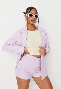 MISSGUIDED lilac co ord boyfriend blazer ~ women's summer blazers