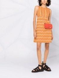 M Missoni empire-line signature-knit dress ~ vintage style dresses