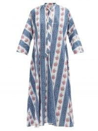 EMILIA WICKSTEAD Lovie floral-print organic-cotton kaftan / womens loose fit kaftans