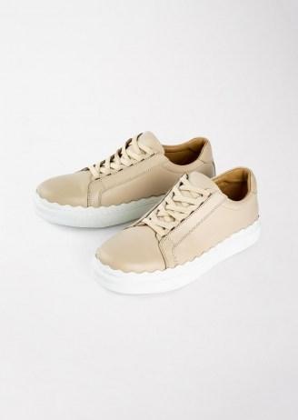 Tony Bianco Qai Vanilla Casual Shoes | sports luxe trainers