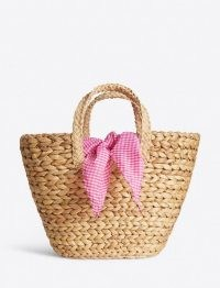 Draper James StrawTote | summer woven basket bags