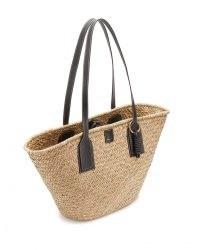 JIGSAW XL CHILTERN STRAW BAG / woven summer tote bags / chic shopper