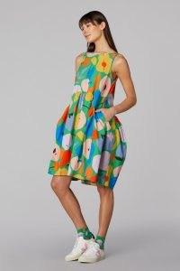 gorman 5 A DAY TULIP DRESS / womens fruit print organic cotton summer dresses