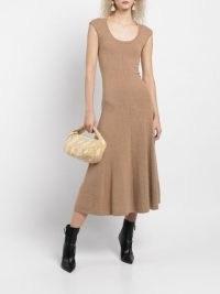 BY FAR snakeskin-print shoulder bag saffron yellow