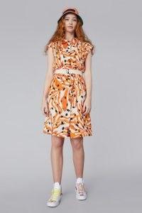 gorman DEAR CORAL SHIRT DRESS – front button linen dresses
