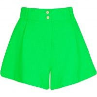 RIVER ISLAND Green structured shorts ~ womens casual summer fashion