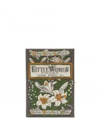 OLYMPIA LE-TAN Little Women embroidered book clutch / romantic floral evening bags / beautiful occasion handbags