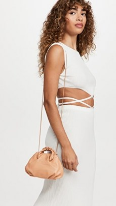 Hereu Bombon Bag Almond   luxe mini handbags   small top handle crossbody bags