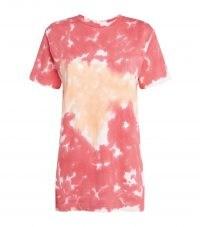 LA DETRESSE Cotton L'Orange T-Shirt / womens short sleeve tie dye t-shirts
