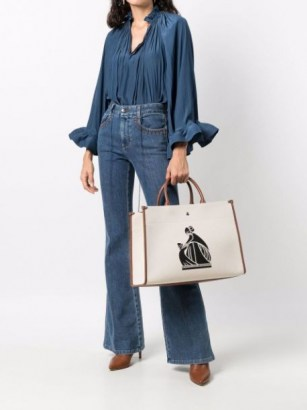 LANVIN In&Out canvas tote bag | chic designer shopper style bags