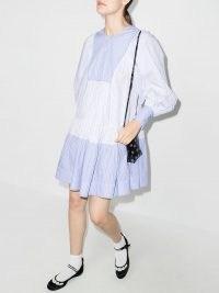 Lee Mathews Diana striped organic cotton dress   womens relaxed fit summer dresses