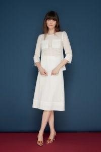 jane atelier MILLIE SPOT SKIRT / high waisted classic A line skirts / goat women's fashion