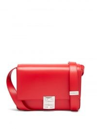 GIVENCHY 4G medium red leather cross-body bag ~ chic crossbody bags