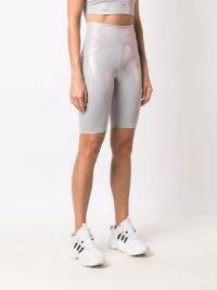 adidas by Stella McCartney shiny cycling shorts – womens luxe style sportswear