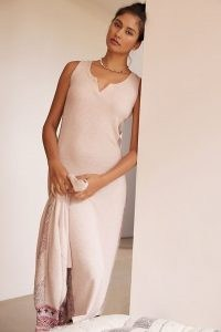 Daily Practice by Anthropologie Knit Midi Dress / sleeveless tank dresses / luxe loungewear / chic lounge fashion