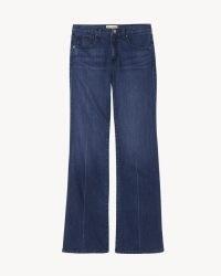 NILI LOTAN BRINDIE JEAN   womens blue denim front patch pocket jeans
