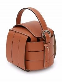 JW Anderson KNOT BAG – JW Anderson brown leather top handle bags