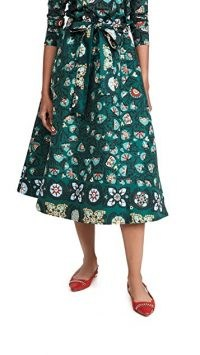 La Double J Sardegna Skirt in Suzany / vintage inspired skirts / floral retro fashion