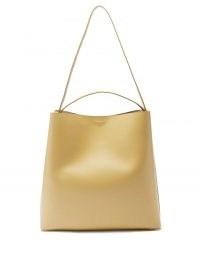 AESTHER EKME Sac leather shoulder bag – beige minimalist aesthetic bags
