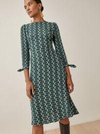 Reformation Port Dress in Venture | chic retro dresses | womens vintage style fashion