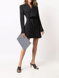 Y/Project twisted blazer dress ~ lbd ~ chic evening jacket inspired dresses