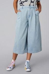 gorman ALBY DENIM CULOTTE   light blue culottes