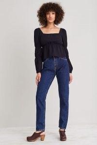 Nudie Jeans Breezy Britt Jeans | womens 100% organic cotton denim fashion