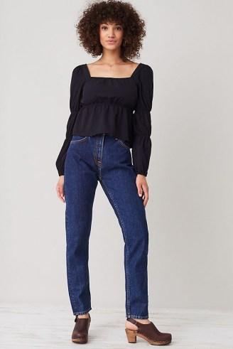 Nudie Jeans Breezy Britt Jeans | womens 100% organic cotton denim fashion - flipped