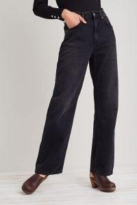 Nudie Jeans Clean Eileen Jeans in Black | womens 100% organic cotton denim fashion