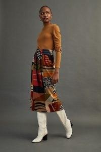 Conditions Apply Gerri Midi Skirt – multi print skirts – mixed prints