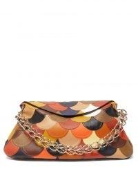 CHLOÉ Juana multicoloured patchwork leather shoulder bag | 70s vintage inspired bags | retro handbags