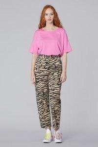 gorman CHASING WATERFALLS JEAN   womens organic cotton jeans   women's animal print denim fashion
