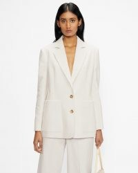 TED BAKER BENITO Corduroy weekend blazer ~ womens chic casual cord blazers ~ women's textured relaxed fit jackets
