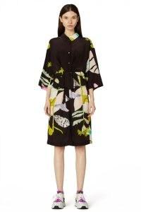 Kaitlin Johnson x Gorman FLORET SHIRT DRESS – printed kimono style tie waist dresses – floral prints