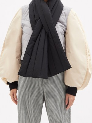 LOEWE Colour-block balloon-sleeve bomber jacket   volume sleeve jackets - flipped