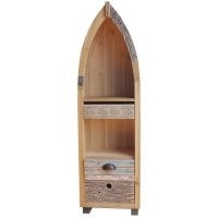 Camille Driftwood Boat Chest Longshore Tides