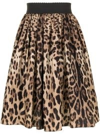 Lucy Hale brown and black animal print skirt, Dolce & Gabbana leopard-print skirt, on Instagram, 23 October 2021 | celebrity social media fashion | star style skirts | what celebrities are wearing now