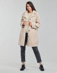 Oakwood VENUS Reversible Coat in Beige ~ women's luxe style winter coats ~ spartoo ~ women's outerwear