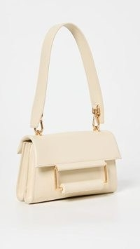 Oroton Edith Small Day Bag in French Vanilla ~ luxe leather shoulder bags